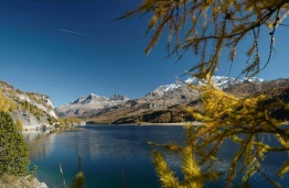 Silsersee en Haute-Engadine. Photo : B. Konantz
