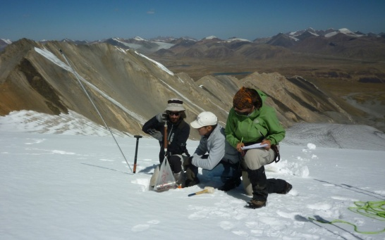 Affichage aggrandi: On-site Training Glacier in Central Asia